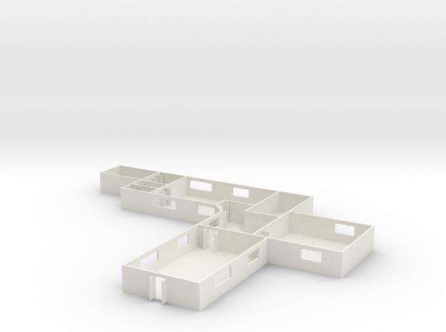 1/160 Scale MASH Main Building
