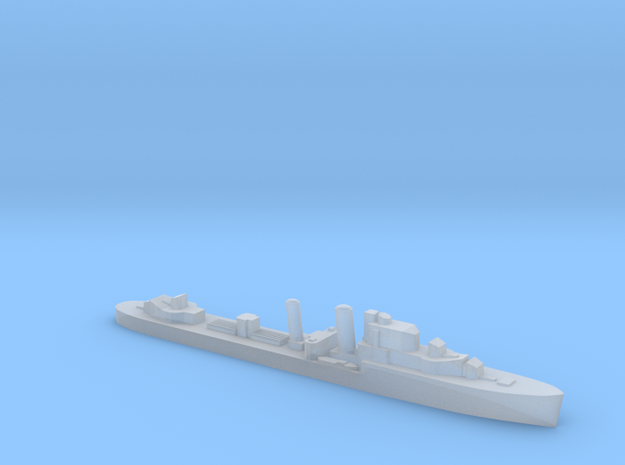 HMS Intrepid destroyer 1:1800 WW2 in Smoothest Fine Detail Plastic