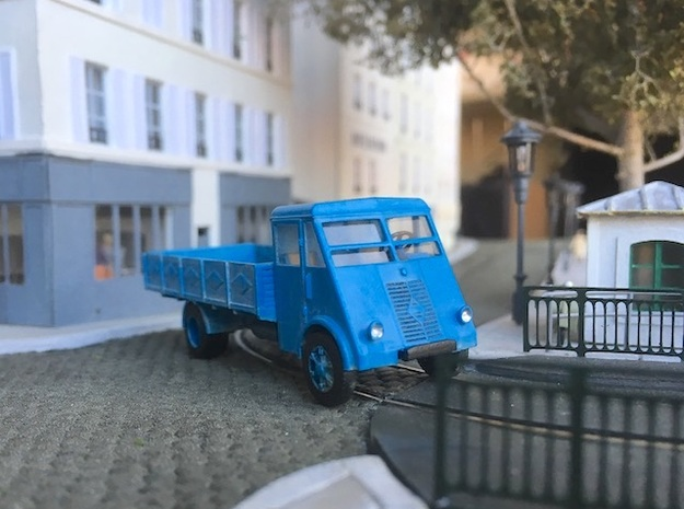 Renault AHN (ridelles) - Ho in Smooth Fine Detail Plastic