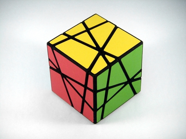 Madness Cubed Puzzle in White Strong & Flexible