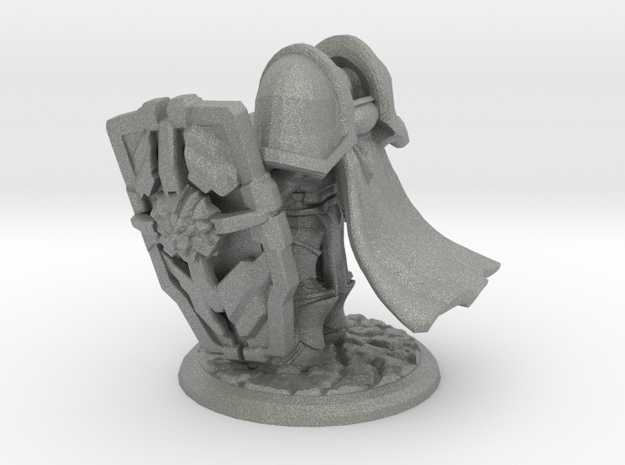 Tristan the Holy Paladin in Gray Professional Plastic