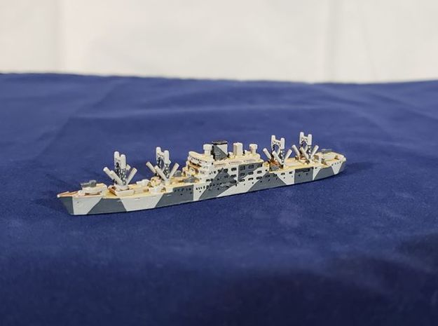 Aikoku Maru 1/1800 in White Natural Versatile Plastic
