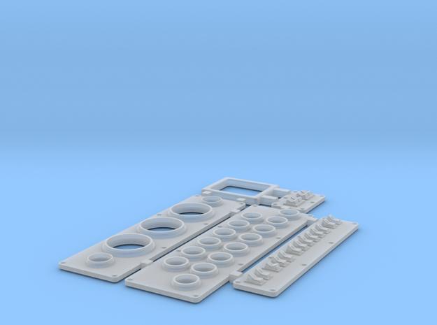 Instrument Panel V1 Wellcraft SC38 in Smooth Fine Detail Plastic: 1:10