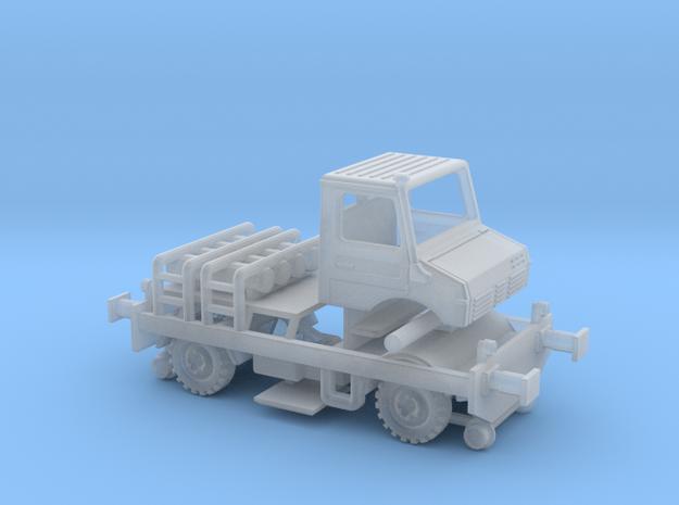 1:220 Unimog 1300 zweiweg Fahrgestell typ 2   in Smooth Fine Detail Plastic
