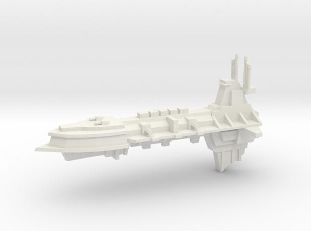 Chaos Escort - Concept E in White Natural Versatile Plastic