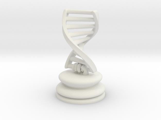 DNA X 4 Pieces in White Natural Versatile Plastic