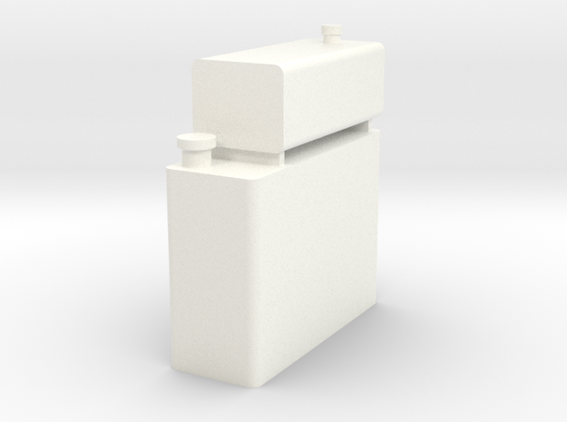 Kato Shay Water / Oil Tank in White Processed Versatile Plastic