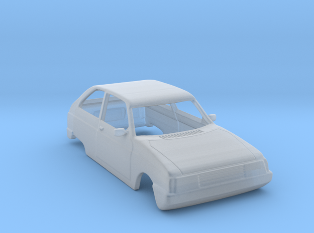 Oltcit (Citroen Axel) Body Scale 1:120 in Smoothest Fine Detail Plastic