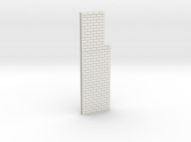 N Atlas Viaduct Straight Walls in White Natural Versatile Plastic