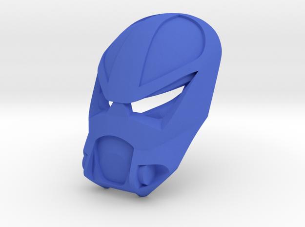 Kanohi Vaamaku - Mask of Psychometry in Blue Processed Versatile Plastic