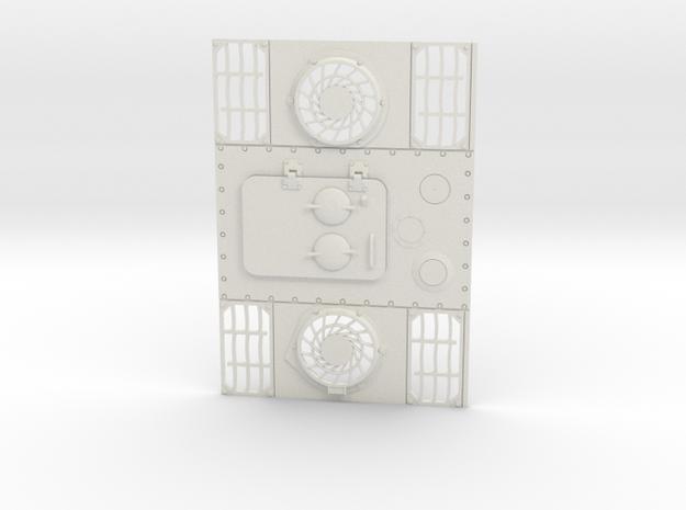 1/16 Panther D Enigine Deck in White Natural Versatile Plastic