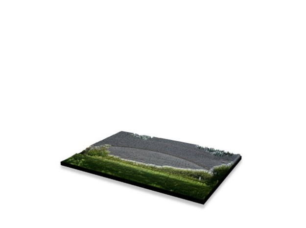 Full Color Photoshaper (15x10cm) in Full Color Sandstone