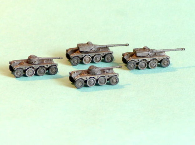 French EBR 75 Heavy Scout Car 1/200 in Smooth Fine Detail Plastic