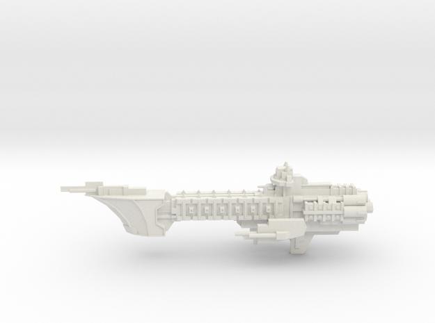 Navy Light Frigate - Concept 2  in White Natural Versatile Plastic