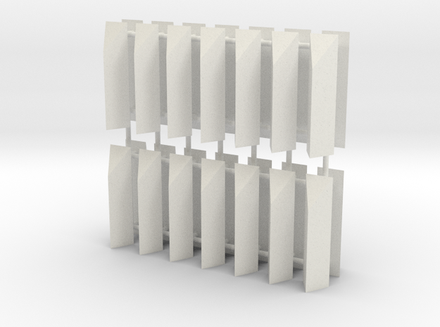 Aqueduct Enforcement Pillar Pack in White Natural Versatile Plastic