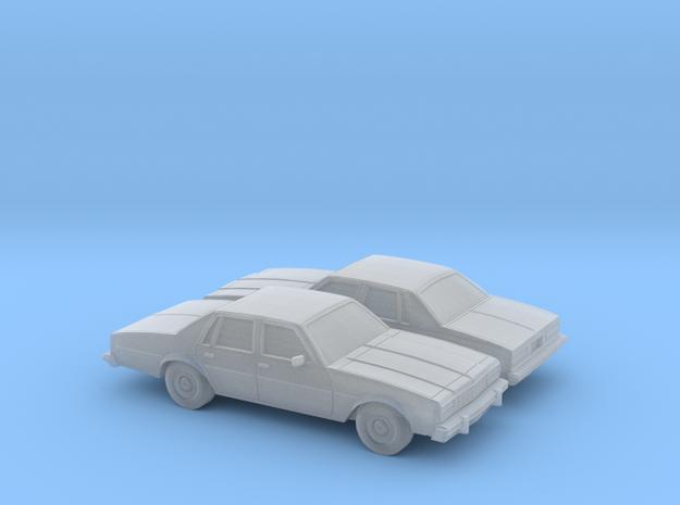 1/160 2X  1977-78 Chevrolet Impala Sedan in Smooth Fine Detail Plastic