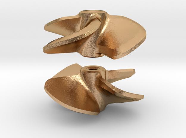 Propeller 16 x 16 4-blades (RH+LH pair) in Natural Bronze