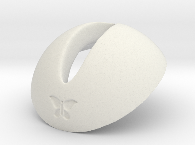 Rubenesque head to SD body adapter TEST VERSION in White Natural Versatile Plastic