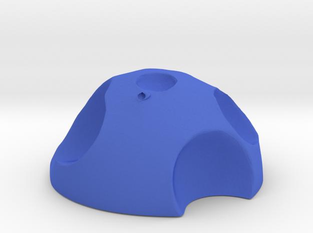 ! - Moon - Concept B  in Blue Processed Versatile Plastic