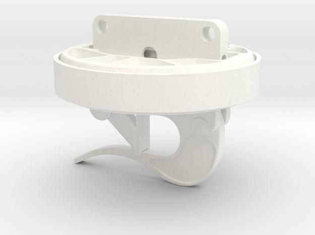 1.7 CARGO HOOK BELL SERIES ASSEM in White Processed Versatile Plastic