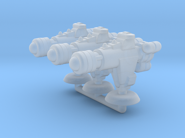 Offender Class Cruiser Squadron in Smooth Fine Detail Plastic