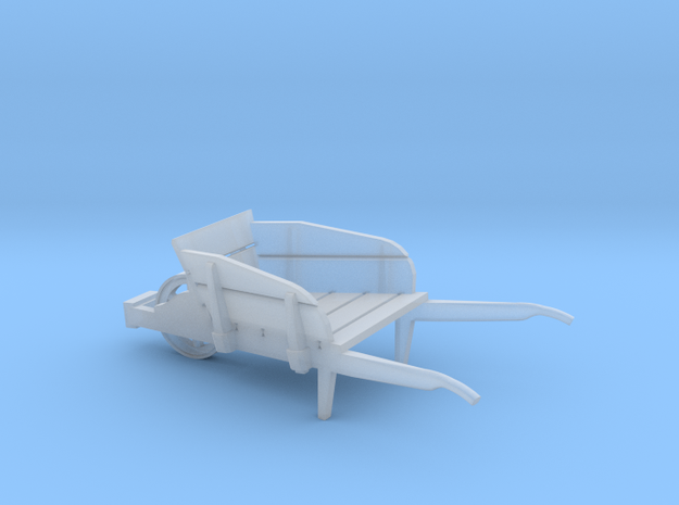 wheel barrow 1:72 scale in Smoothest Fine Detail Plastic