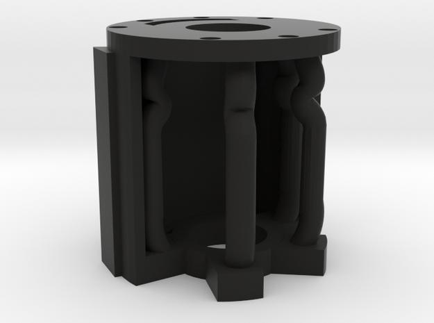 89Sabers Graflex - Crystal Chamber Insert- P2 of 4 in Black Natural Versatile Plastic