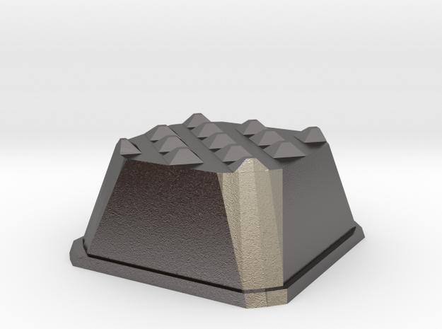 Truffle Shuffle 6a in Polished Nickel Steel