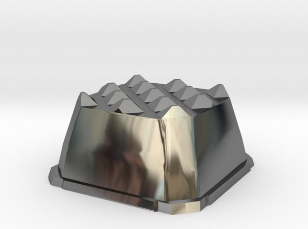 Truffle Shuffle 4b in Fine Detail Polished Silver
