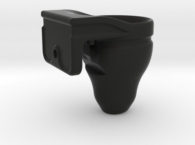 Fish Tank Feed Cup (Hanging) in Black Natural Versatile Plastic