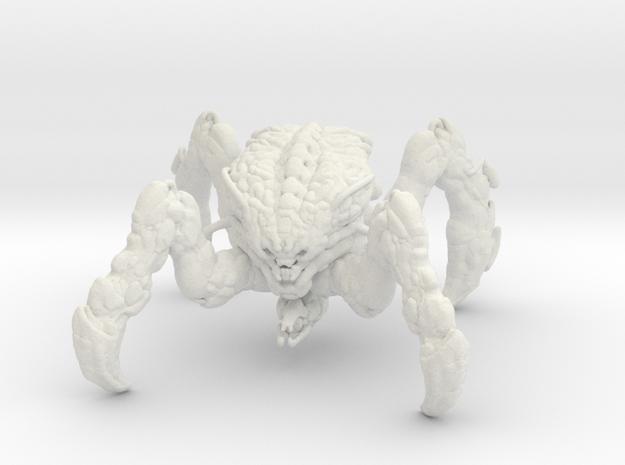 Doom Spider Mastermind 1/60 miniature games large in White Natural Versatile Plastic