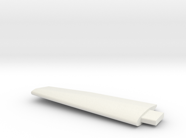 Lancair Legacy #30 wing RH (clipped) in White Natural Versatile Plastic