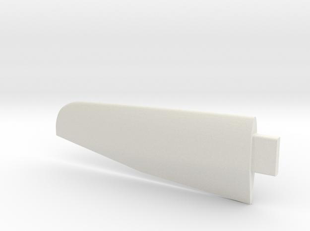 Lancair Legacy Wing RH in White Natural Versatile Plastic