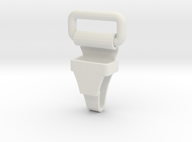 Jyn Erso Eadu version - buckle 3 in White Natural Versatile Plastic