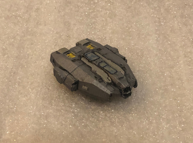 Keelback: Elite Dangerous in White Natural Versatile Plastic