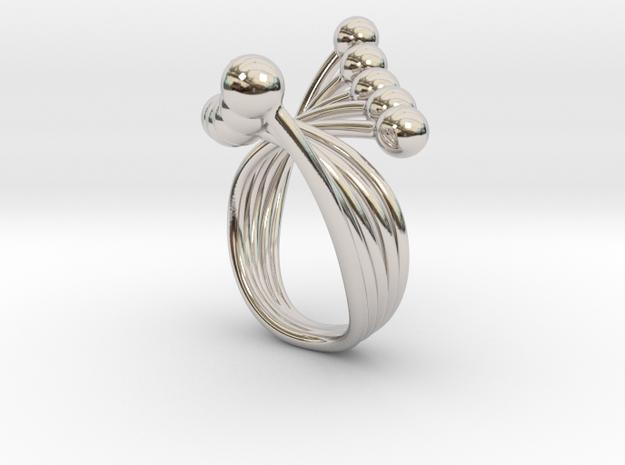 Misun - Bjou Designs in Rhodium Plated Brass