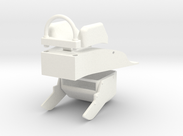 1/4.8 EVACPAC FOR A4 CARF MODEL (B) in White Processed Versatile Plastic