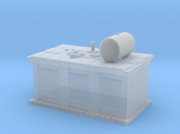 Firebase Shower / Latrines in Smooth Fine Detail Plastic