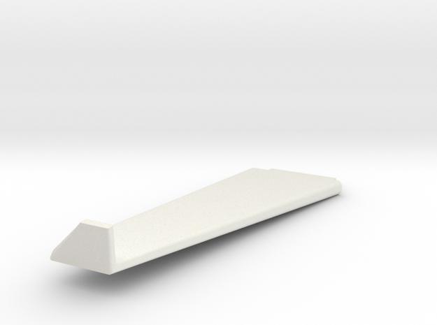 Lancair IV wing LH in White Natural Versatile Plastic