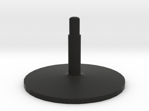 Illusion arrow (stand v2) in Black Premium Versatile Plastic