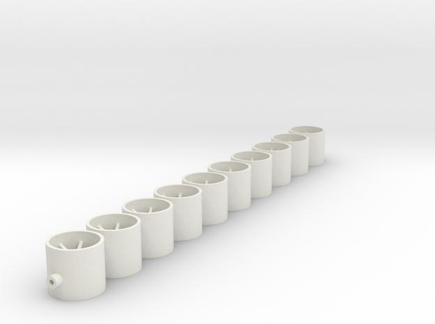 11x10x2_0_oFl in White Natural Versatile Plastic