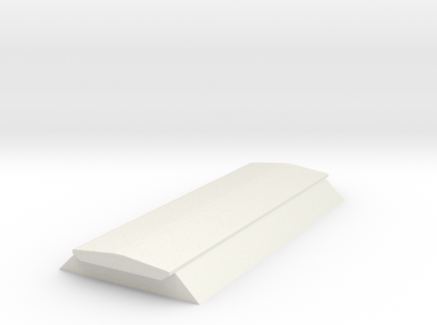7mm BIS PAA hopper top in White Natural Versatile Plastic