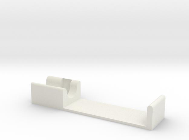 C-clip pen holder in White Natural Versatile Plastic