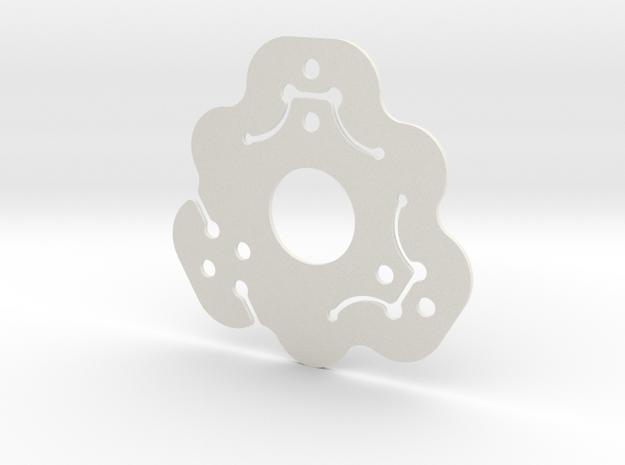 NicNac'3 | C in White Natural Versatile Plastic