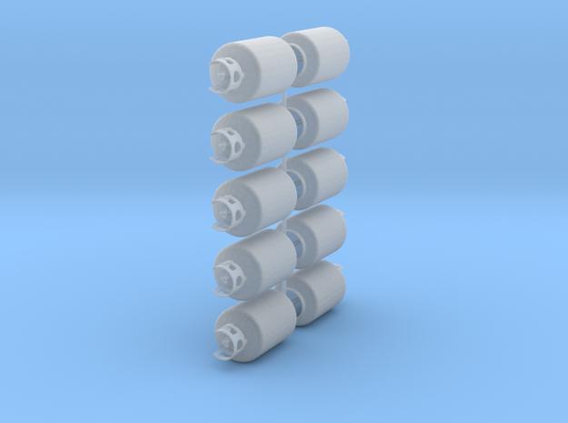 30lb propane tanks in Smooth Fine Detail Plastic: 1:24