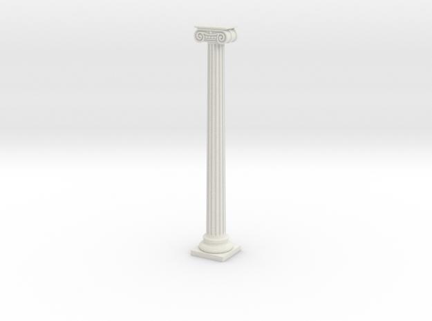 Column in White Natural Versatile Plastic