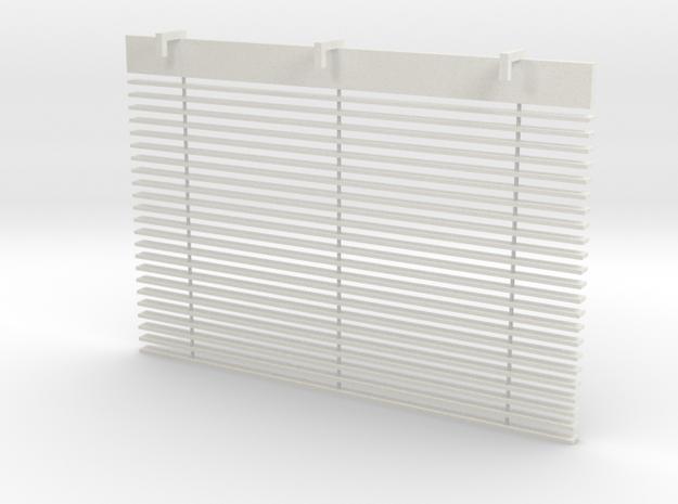 Blinds in White Natural Versatile Plastic