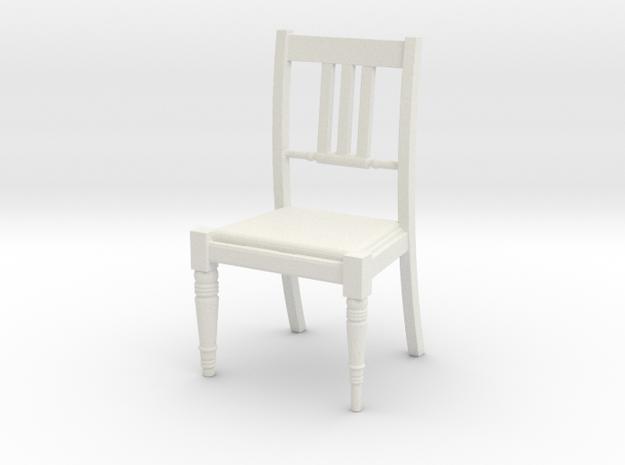 Period Chair  in White Natural Versatile Plastic