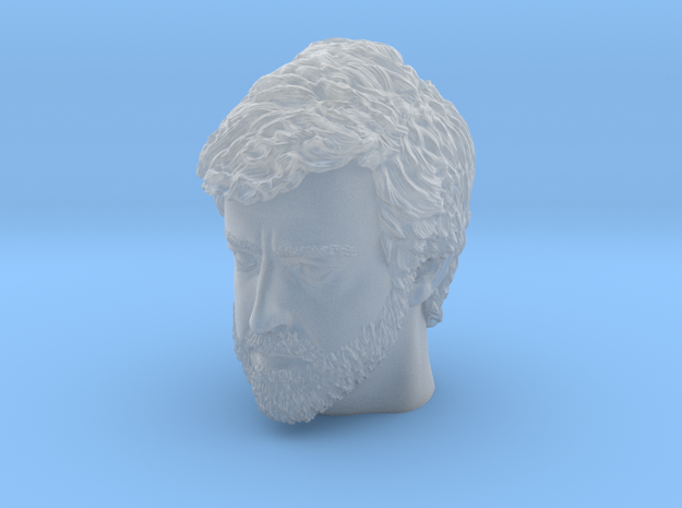 Head170920b 06 in Smooth Fine Detail Plastic