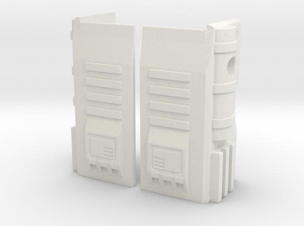 TF WFC Siege Magnus Thigh Accessories No Transform in White Natural Versatile Plastic